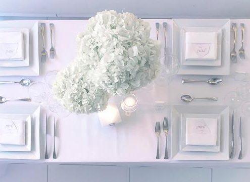 Décoration mariage blanc